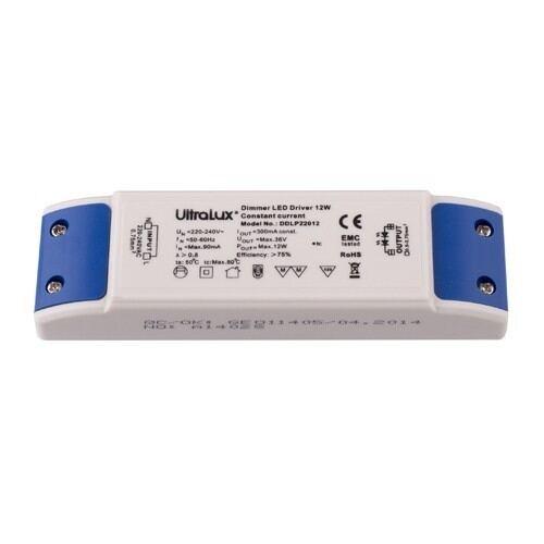 Dæmpbar strømforsyning til Ultralux LED paneler 12W