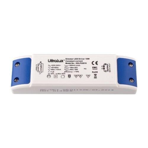 Dæmpbar strømforsyning til Ultralux LED paneler 18W