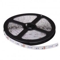 Proff. LED Bånd/Strips, RGB, 14,4W/m, 24V DC , 60 Led/m, 5M/rulle, ikke vandtæt
