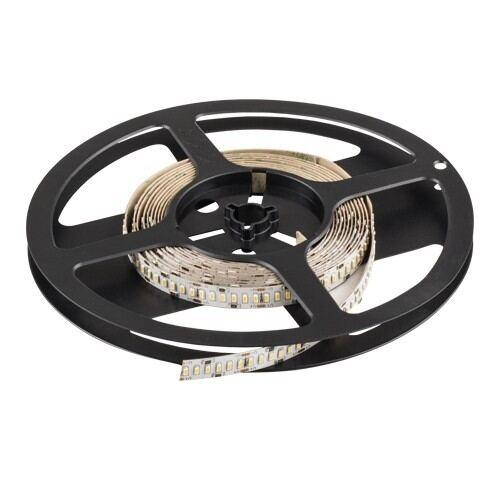 Proff. LED Bånd SMD5050 med konstant strøm, 14,4 W/m, 24V DC varmt hvid, 60 Led/m, 5 m/role, ikke vandtæt