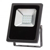 LED projektør, slank, IP65, 20W, 2700K