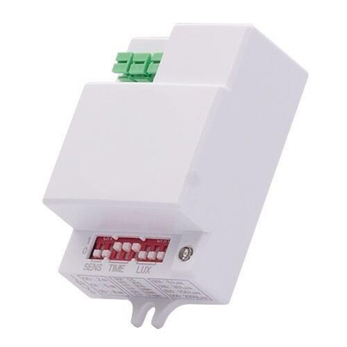 Mikrobølger sensor til loftslamper, justerbare, 160°/360°, 8m