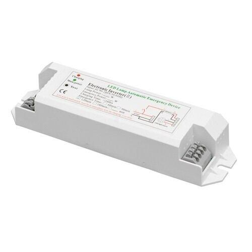 Batteripakke til nødbelysning inkl. inverter, Ni-CD, 12V, 2500mAh