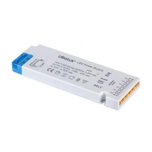 LED strømforsyning til Led møblespot, 12V DC, 36W, 3A, IP20