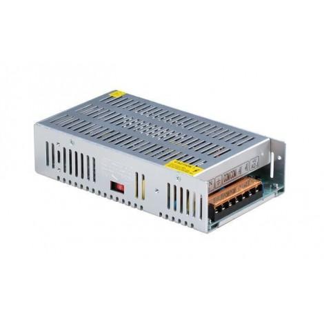 LED-strømforsyning, 250W, 0-12V DC, Ikke-vandtæt