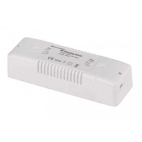 Smart lysdæmpbar til enkelt farve led bånd/strips 2,4 GHz, 2X8A, 192W (12V), 12-24V DC