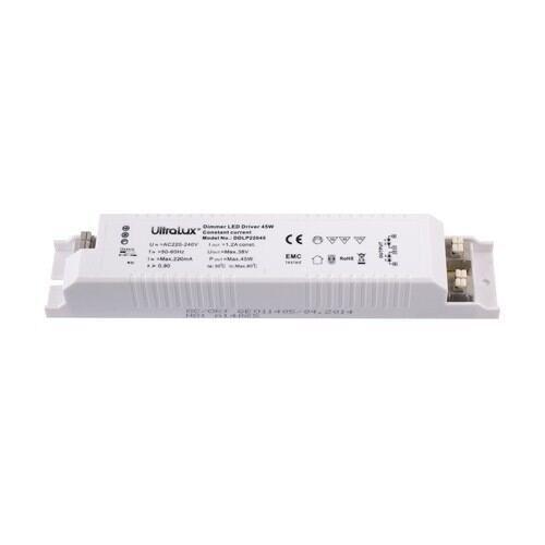 Dæmpbar strømforsyning til Ultralux LED paneler 45W