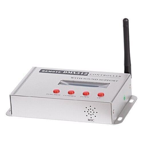DMX512 RF controller til RGB Led lys, 100-240V AC, 5W