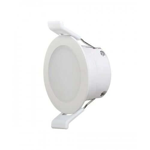 LED downlight til indbygning, IP44, 7W 3000/4000K, 220V, 120°
