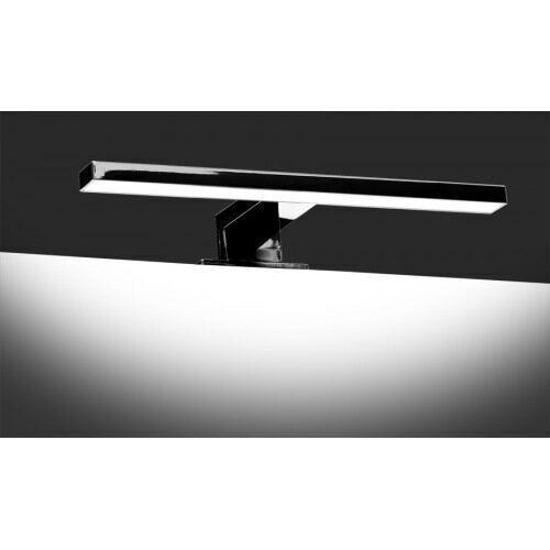 Led Bad/Galleri lampe, 5W, 4200K, krom, IP44