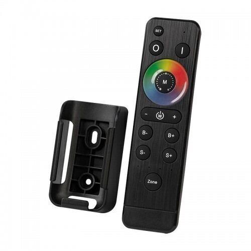Smart 2.4G RF touch multifunktionel fjernbetjening til Led lys, 4 zoner