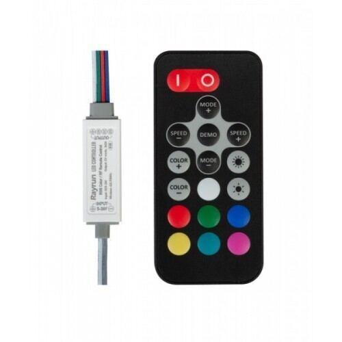 RF mini controller til RGB LED lys, 72W