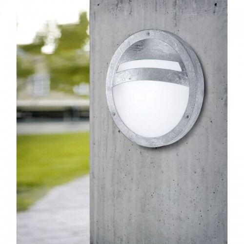 Udendørs væglampe, Е27, IP44, Galvaniseret