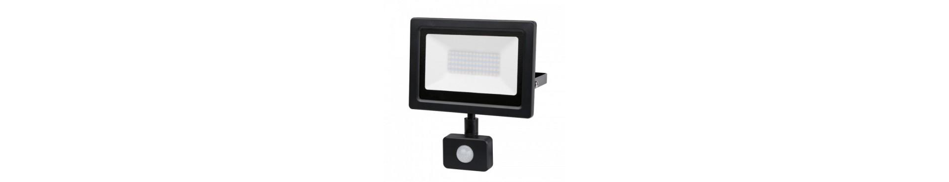 LED projektør med sensor - Projektører til både privat og erhverv