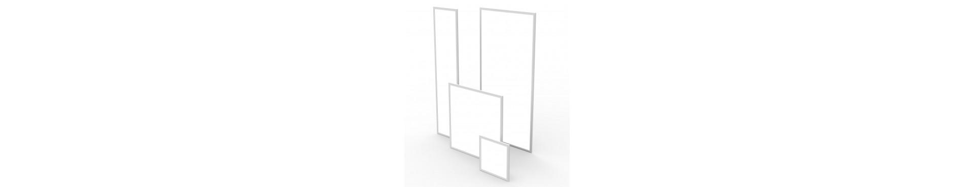 Store LED paneler i størrelserne 30x60, 60x60, 120x30, 120x60