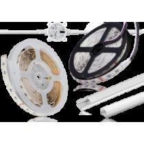 LED bånd 12-24-48V og tilbehør
